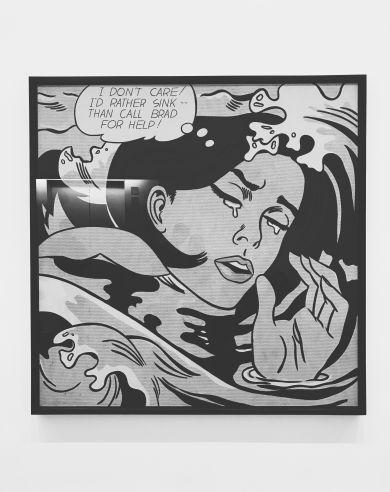 Drowning Girl by Roy Lichtenstein c. 1963