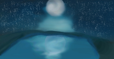 the-moon-and-the-pond